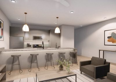 T1 UB Kitchen and Living (1)