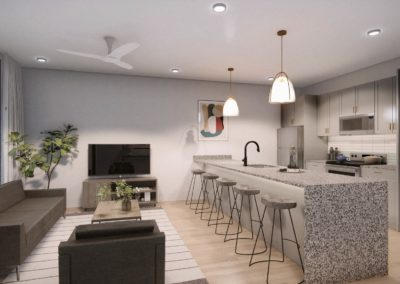 T1 UB Kitchen and Living (2)