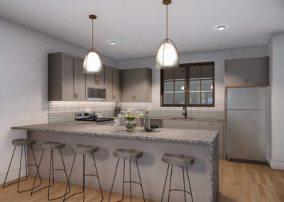 T2 UC Kitchen and Living (2)